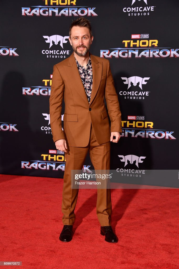 Chris Hardwick attends the premiere of Disney and Marvel's 'Thor: Ragnarok' on October 10, 2017 in Los Angeles, California.