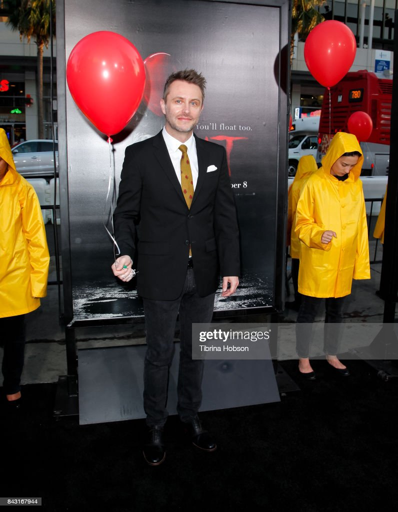 Chris Hardwick attends the premiere of 'It' at TCL Chinese Theatre on September 5, 2017 in Hollywood, California.