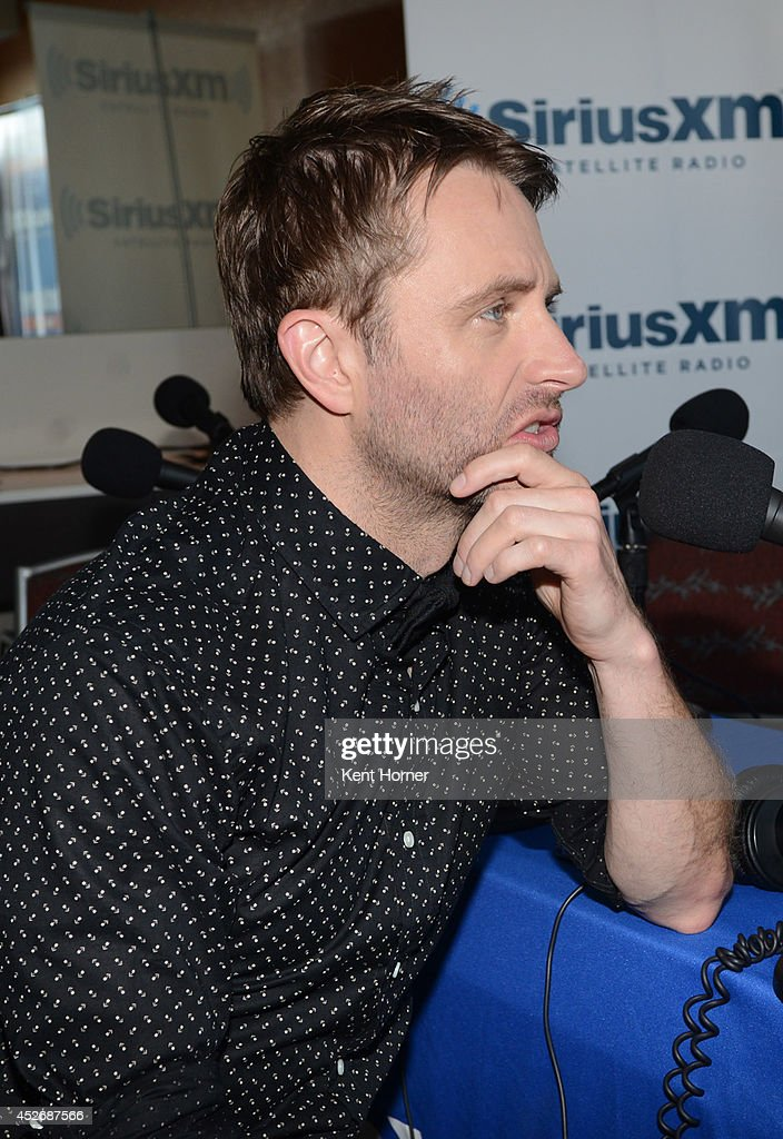 Chris Hardwick is interviewed on SiriusXM's Entertainment Weekly Radio channel from Comic-Con 2014 at The Hard Rock Hotel on July 25, 2014 in San Diego, California.