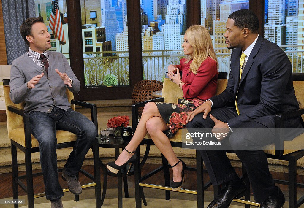 MICHAEL -1/30/13 - Chris Harrison appears on the newly-rechristened syndicated talk show, LIVE with Kelly and Michael,' distributed by Disney-ABC Domestic Television. STRAHAN