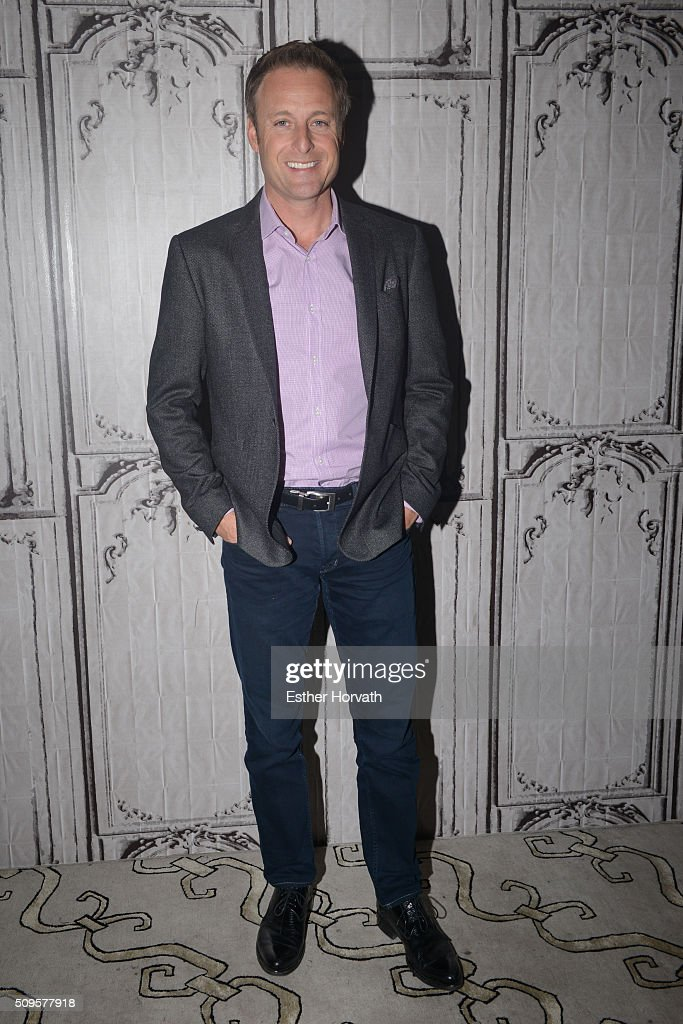 <a gi-track='captionPersonalityLinkClicked' href=/galleries/search?phrase=Chris+Harrison&family=editorial&specificpeople=583468 ng-click='$event.stopPropagation()'>Chris Harrison</a> attends at AOL Studios In New York on February 11, 2016 in New York City.