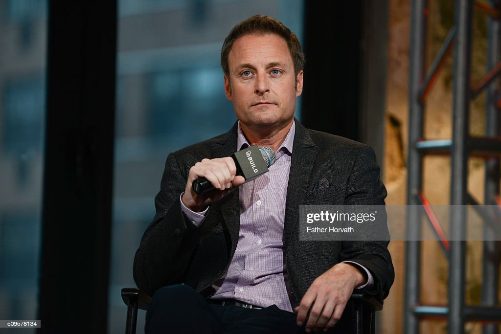 <a gi-track='captionPersonalityLinkClicked' href=/galleries/search?phrase=Chris+Harrison&family=editorial&specificpeople=583468 ng-click='$event.stopPropagation()'>Chris Harrison</a> discusses at AOL Studios In New York on February 11, 2016 in New York City.