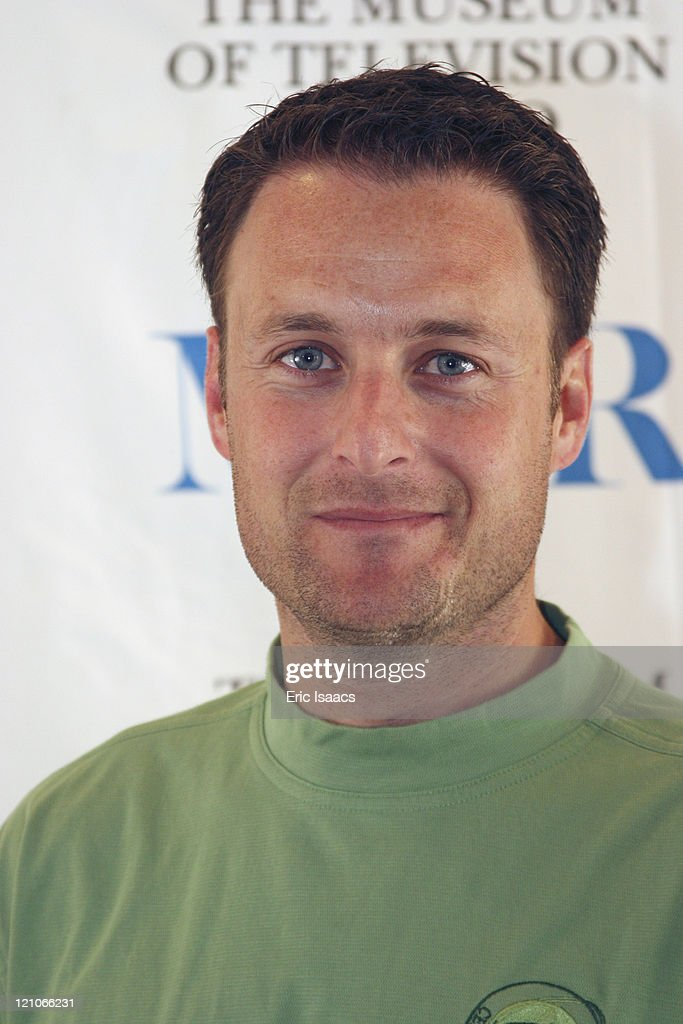 Chris Harrison during Museum of Television and Radio's Third Celebrity Golf Classic at Sherwood Country Club in Los Angeles, California, United States.