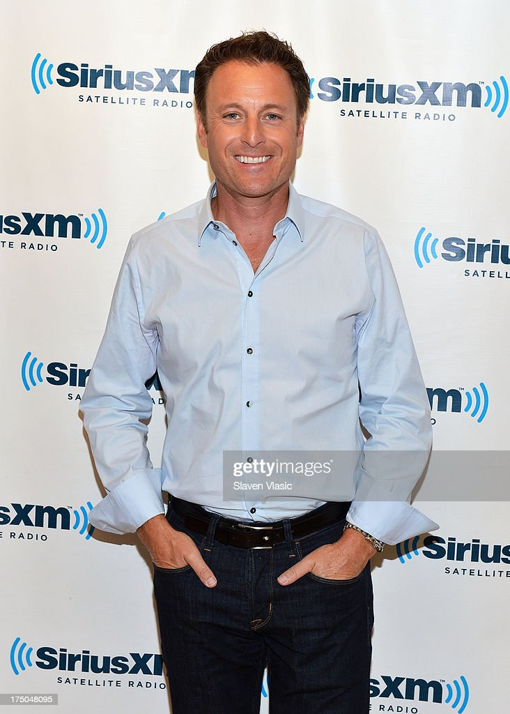 Chris Harrison, host of the ABC reality television dating shows, 'The Bachelor' and 'The Bachelorette' visits SiriusXM Studios on July 30, 2013 in New York City.