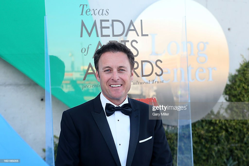 <a gi-track='captionPersonalityLinkClicked' href=/galleries/search?phrase=Chris+Harrison&family=editorial&specificpeople=583468 ng-click='$event.stopPropagation()'>Chris Harrison</a> walks the red carpet before the Texas Medal of Arts Awards show at The Long Center on March 5, 2013 in Austin, Texas.