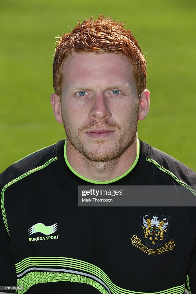 Chris Hart a conditioner for Northampton Saints senior academy poses for a portrait at Franklin's Gardens on August 27, 2013 in Northampton, England.