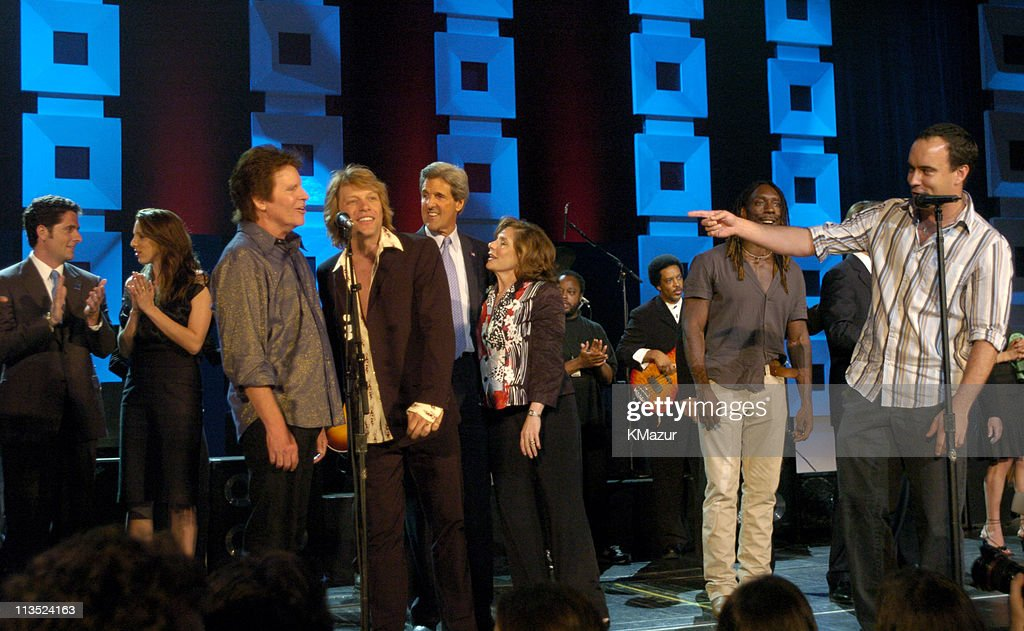 """""""A Change Is Going To Come: The Concert for John Kerry"""" at Radio City Music Hall - Show"""