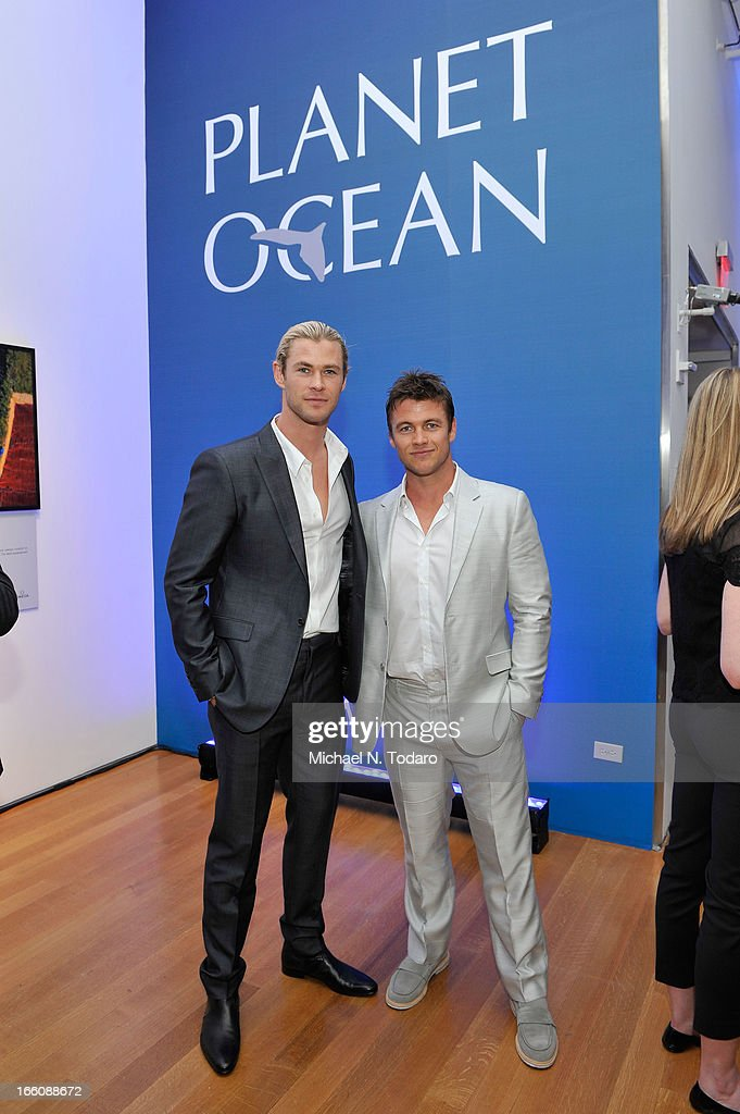<a gi-track='captionPersonalityLinkClicked' href=/galleries/search?phrase=Chris+Hemsworth&family=editorial&specificpeople=646776 ng-click='$event.stopPropagation()'>Chris Hemsworth</a> and Luke Hemsworth attend Omega At The Oceana Ball at Christie's on April 8, 2013 in New York City.