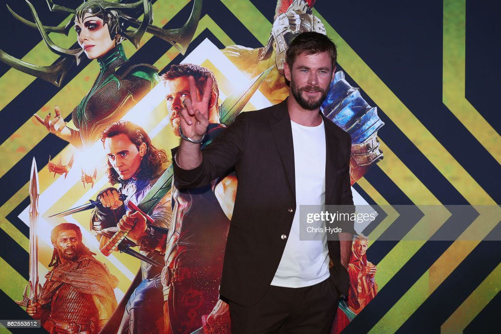 Ragnarok Australian Premiere at Event Cinemas Robina on October 13, 2017 in Gold Coast, Australia.