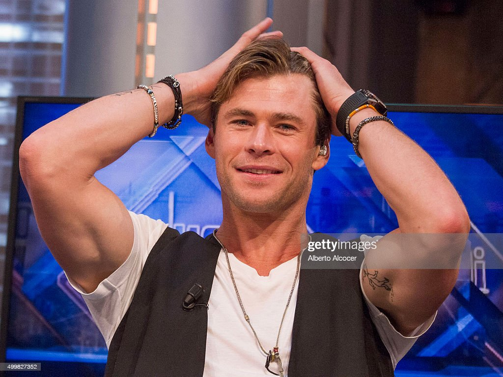 Chris Hemsworth and Tom Holland Attend 'El Hormiguero' Tv Show