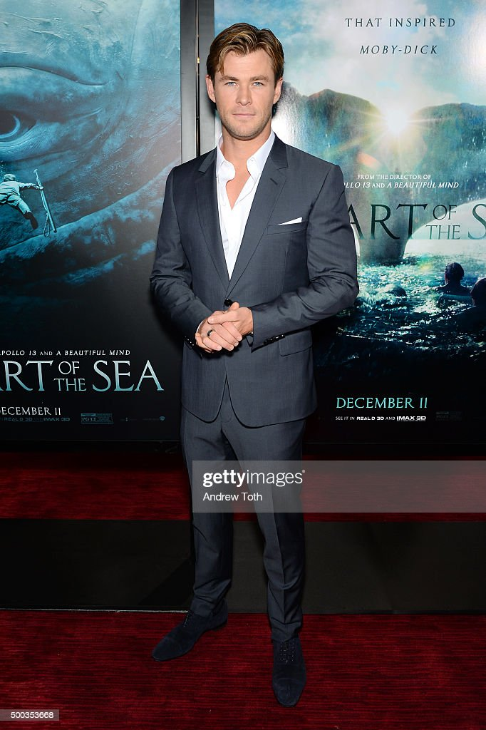 """In The Heart Of The Sea"" New York Premiere - Inside Arrivals"