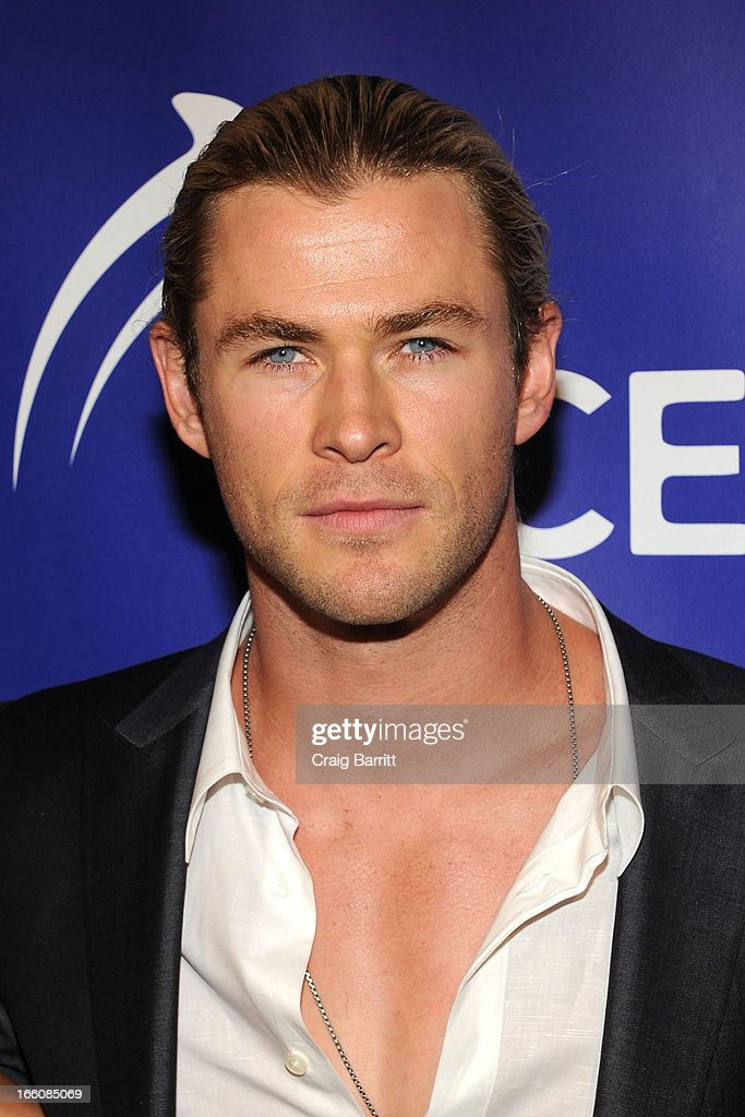 Chris Hemsworth attends The Inaugural Oceana Ball at Christie's on April 8, 2013 in New York City.