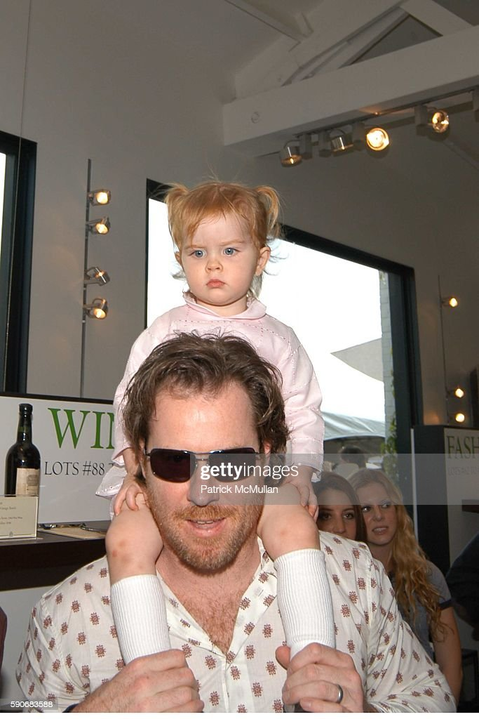 Chris Henchy and Rowan Hencny attend John Varvatos' 3rd Annual Stuart House Charity Benefit at John Varvatos Boutique on March 5 2005 in West...