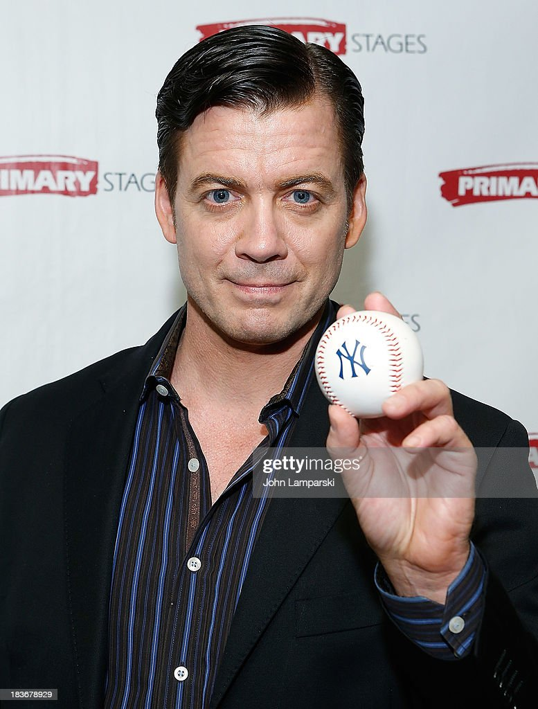 Chris Henry Coffey attends 'Bronx Bombers' Opening Night - After Party at West Bank Cafe on October 8, 2013 in New York City.