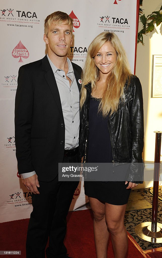 Chris Hotell and Gretchen Bleiler attend the Ante-Up for Autism Event at St. Regis Monarch Beach Resort on November 5, 2011 in Dana Point, California.