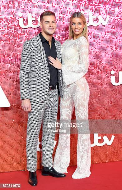 Chris Hughes and Olivia Attwood attend the ITV Gala at the London Palladium on November 9 2017 in London England