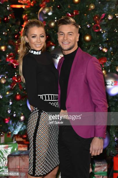 Chris Hughes and Olivia Attwood attend the UK Premiere of 'Daddy's Home 2' at Vue West End on November 16 2017 in London England