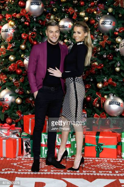 Chris Hughes and Olivia Atwood arrive at the UK Premiere of 'Daddy's Home 2' at Vue West End on November 16 2017 in London England