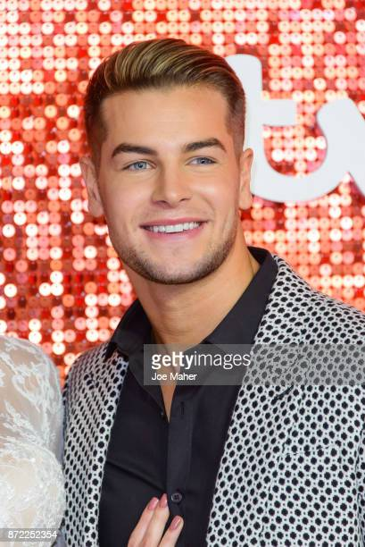 Chris Hughes arriving at the ITV Gala held at the London Palladium on November 9 2017 in London England
