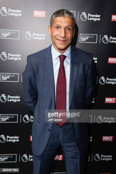 Chris Hughton attends the Football Black List 2016 at Village Underground on March 28 2017 in London England