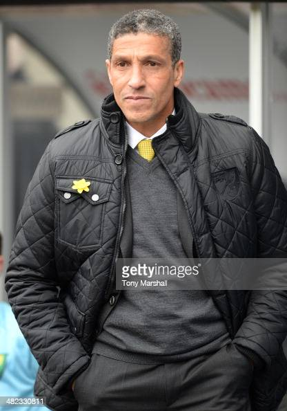 Chris Hughton Manager of Norwich City during the Barclays Premier League match between Swansea City and Norwich City at Liberty Stadium on March 29...