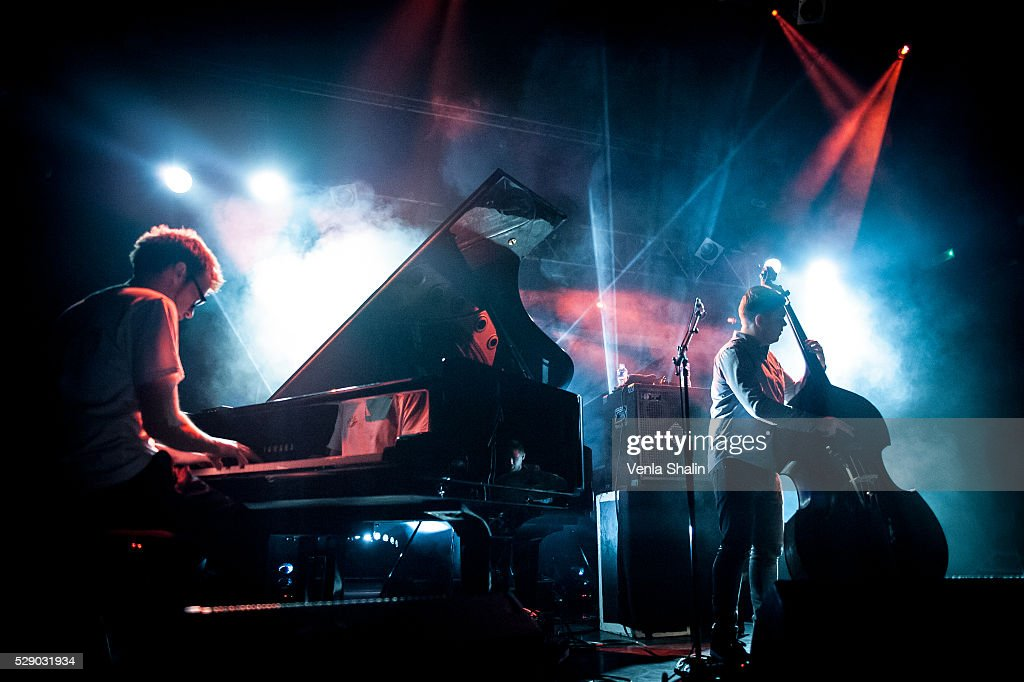 Chris Illingworth and Nick Blacka of Gogo Penguin performs at KOKO on May 5, 2016 in London, England.