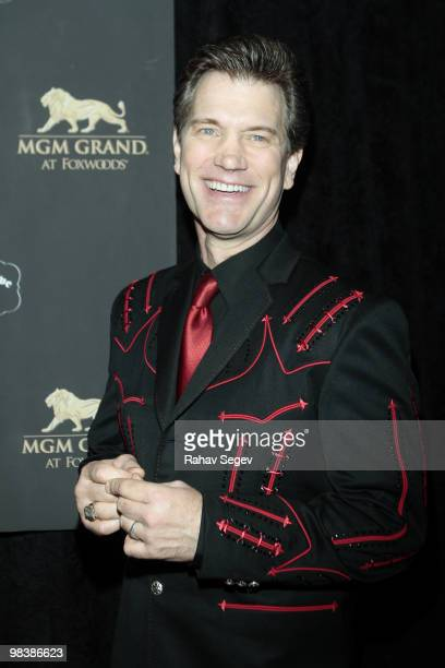 Chris Isaak attends Kenny Rogers The First 50 Years at The MGM Years at The MGM Grand at Foxwoods on April 10 2010 in Ledyard Connecticut