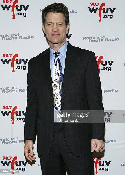 Chris Isaak attends the 5th annual WFUV Radio Spring Gala at Gotham Hall on May 10 2012 in New York City