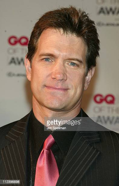 Chris Isaak during 2002 GQ Men of the Year Awards Arrivals at Hammerstein Ballroom in New York City New York United States