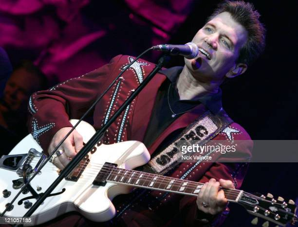 Chris Isaak during Chris Isaak In Concert at the Borgata August 18 2006 at The Music Box in Atlantic City New Jersey United States