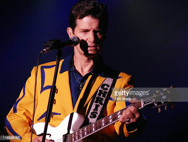 Chris Isaak during Chris Isaak in Concert at the Trump Marina Casino Hotel at Trump Marina Casino Hotel in Atlantic City New Jersey United States