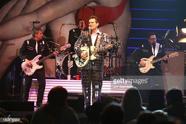 Chris Isaak performs at The Grove of Anaheim in Anaheim California on August 1 2012