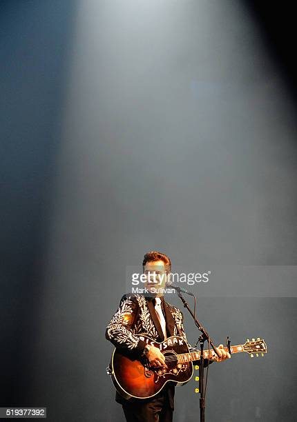 Chris Isaak performs at The Star on April 6 2016 in Sydney Australia