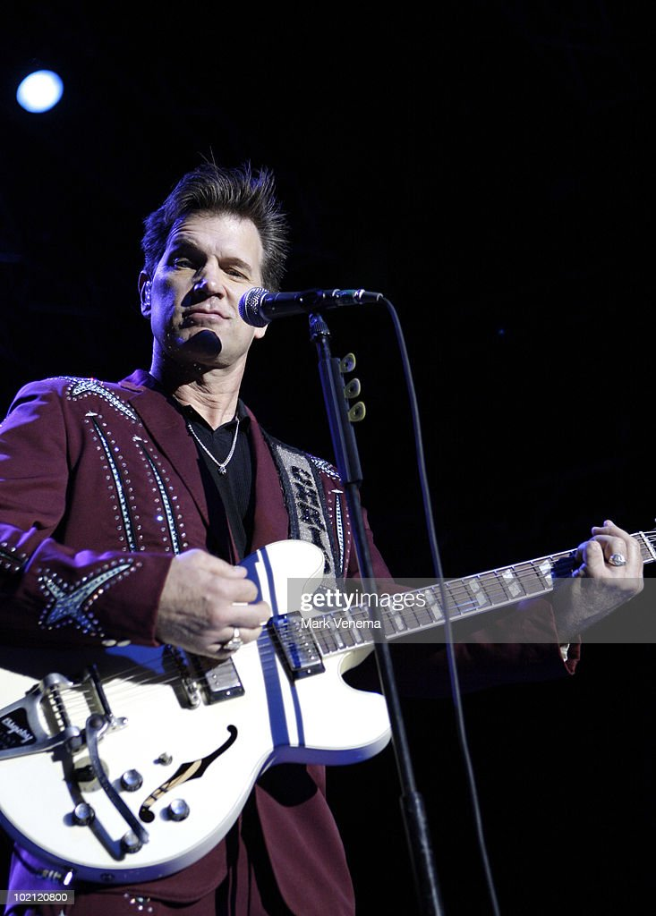 Chris Isaak performs live at 013 on June 15, 2010 in Tilburg, Netherlands.