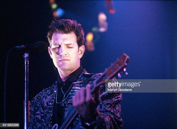 Chris Isaak performs on stage at The Town And Country Club Kentish Town London United Kingdom 1991