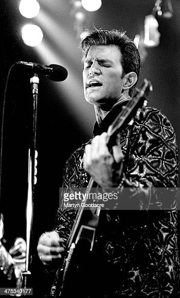Chris Isaak performs on stage with at The Town And Country Kentish Town London United Kingdom 1991