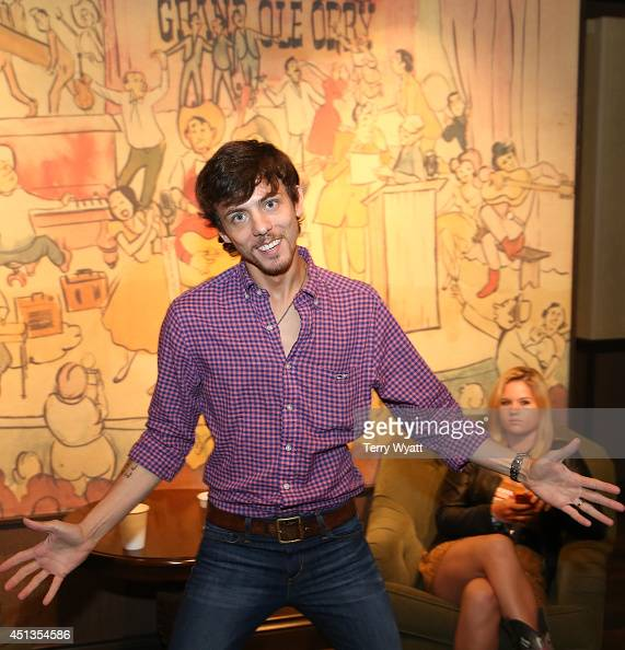 Chris Janson backstage at the ACM Lifting Lives Music Camp Performance On The Grand Ole Opry With Chris Janson at Grand Ole Opry House on June 27...