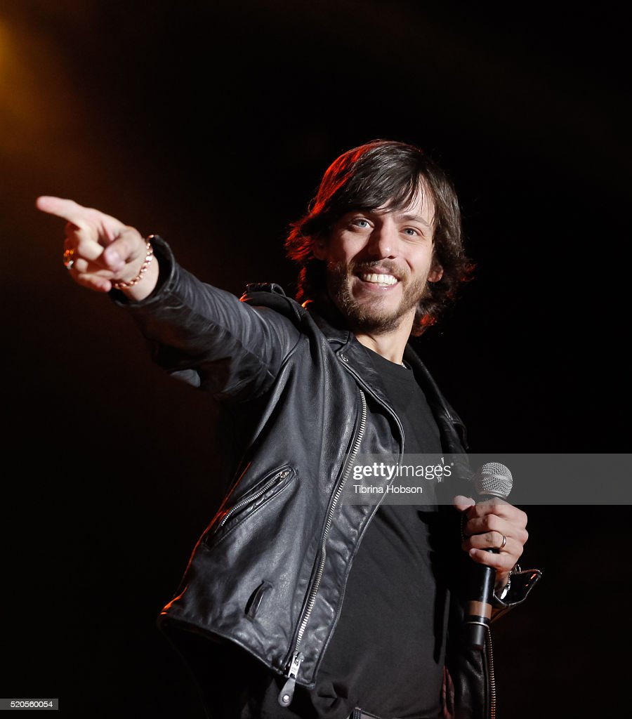 Chris Janson performs at Country Thunder Arizona 2016 at Country Thunder West on April 9, 2016 in Florence, Arizona.