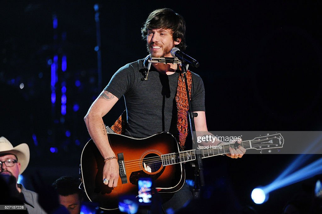 Chris Janson performs at the 2016 American Country Countdown Awards at The Forum on May 1, 2016 in Inglewood, California.