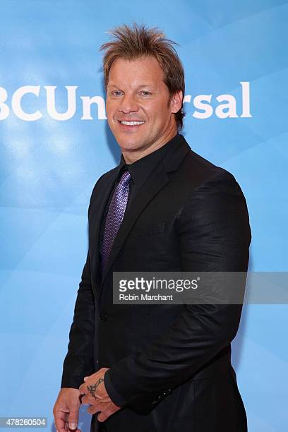 Chris Jericho attends the NBC's 2015 New York Summer Press Day at Four Seasons Hotel New York on June 24 2015 in New York City
