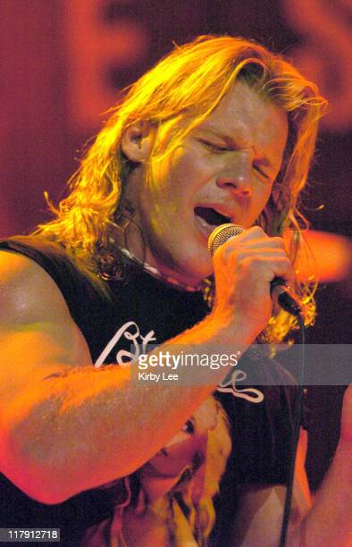 Chris Jericho WWE wrestler and lead singer of Fozzy
