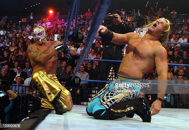 Chris Jerico and Rey Mysterio
