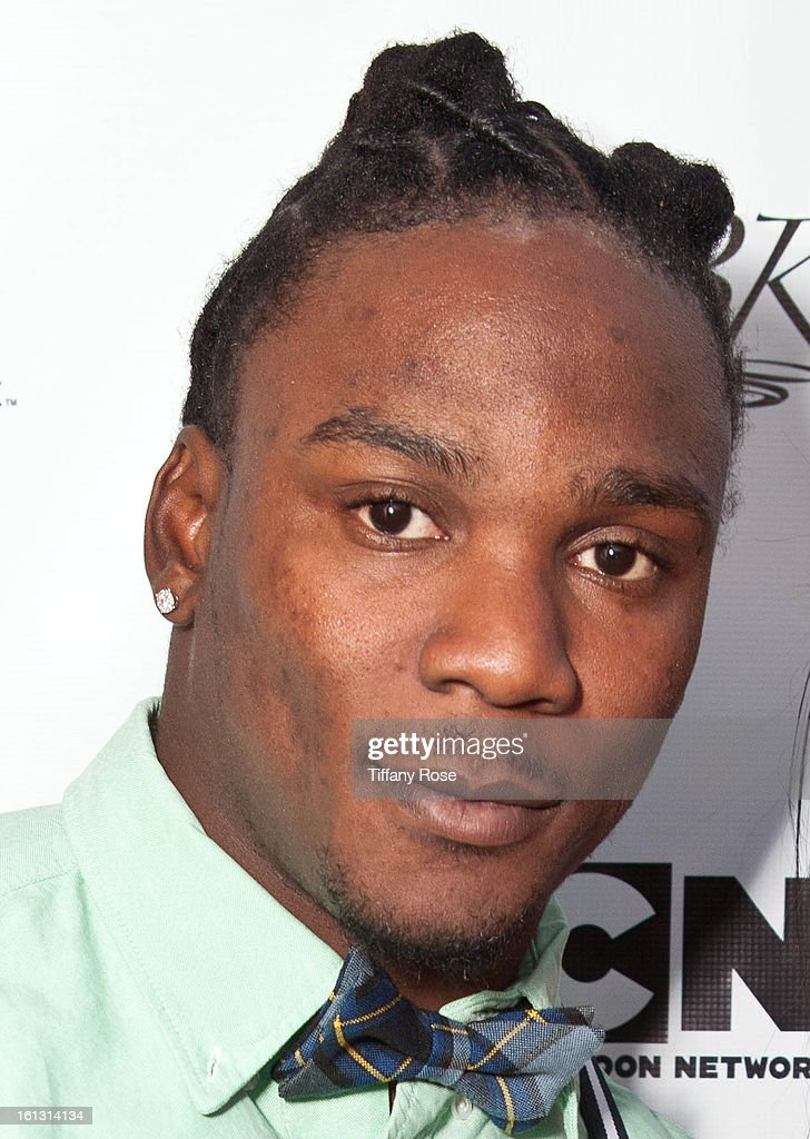Chris Johnson attends the GBK & Cartoon Network's Official Backstage Thank You Lounge at Barker Hangar on February 9, 2013 in Santa Monica, California.