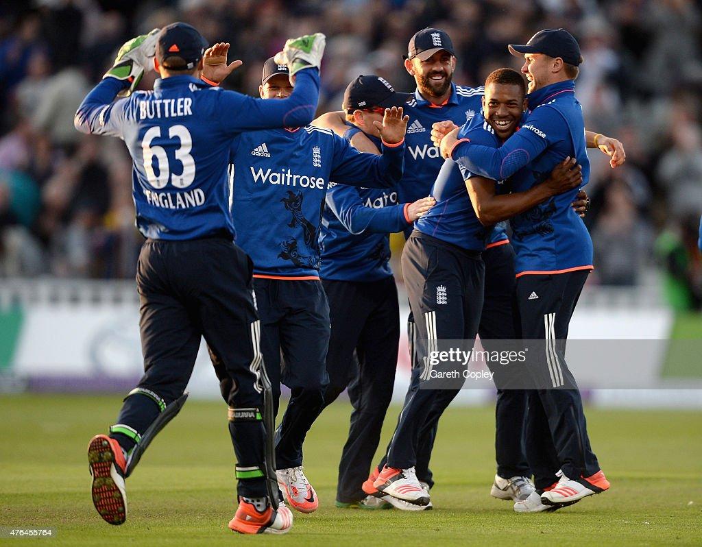 England v New Zealand - 1st ODI Royal London One-Day Series 2015