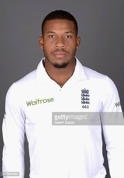 Chris Jordan of England poses for a portrait at Lord's Cricket Ground on May 19 2015 in London England