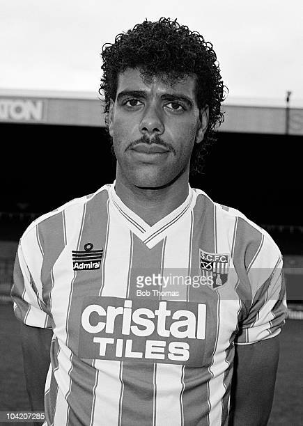 Chris Kamara of Stoke City at Victoria Ground StokeonTrent on 23rd August 1988