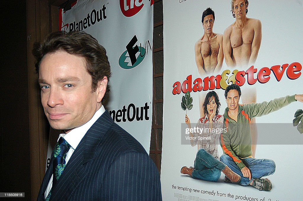 <a gi-track='captionPersonalityLinkClicked' href=/galleries/search?phrase=Chris+Kattan&family=editorial&specificpeople=217709 ng-click='$event.stopPropagation()'>Chris Kattan</a> during 'Adam & Steve' Los Angeles Premiere - After Party at Basque in Hollywood, California, United States.