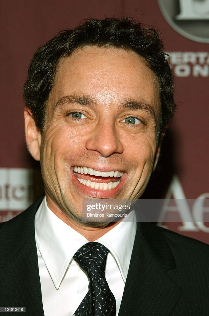 <a gi-track='captionPersonalityLinkClicked' href=/galleries/search?phrase=Chris+Kattan&family=editorial&specificpeople=217709 ng-click='$event.stopPropagation()'>Chris Kattan</a> during Katie Couric and the Entertainment Industry Foundation (EIF) Unite Hollywood & Broadway Stars to Launch The Jay Monahan Center for Gastrointestinal Health - Arrivals at The Waldorf Astoria in New York City, New York, United States.