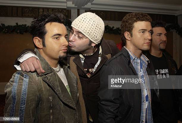 Chris Kirkpatrick during *NSYNC Attend Unveiling of Their Wax Figures at Madame Tussaud's New York at Madame Tussaud's Wax Museum in New York City...