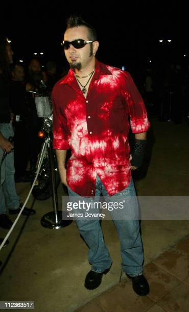 Chris Kirkpatrick during *NSYNC Challenge for the Children IV VIP Party at Harley Davidson store at Harley Davidson store in Orlando Florida United...